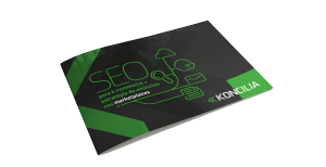 Capa do ebook SEO para e-commerce.